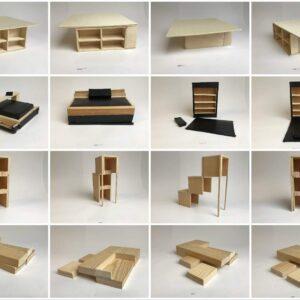 Bauhausbewegung- wandelbare Möbel entwerfen