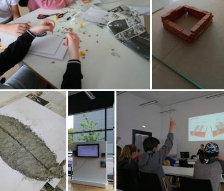 Schülerworkshop Architektur - erdbebensicher bauen