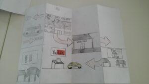 Stadtplan nach eigenem Schulweg erstellt