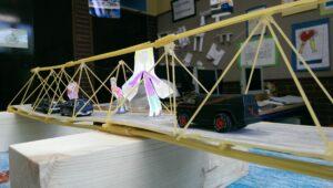 filigrane Spaghetti Brücke