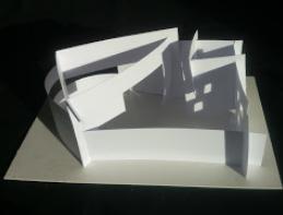 Architekturmodelle aus Papier